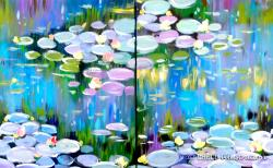 The image for DATE NIGHT : Monet's Waterlilies
