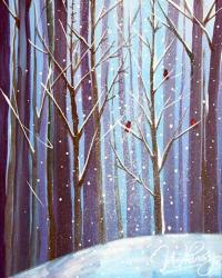 The image for Frosted Forest