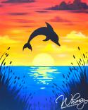 The image for KIDS CAMP : Dolphins At Dusk