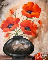 The image for Ink Pot Poppies