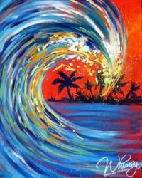 The image for Sunset Surf