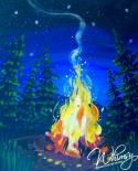 The image for NEW ART : Fireside Glow