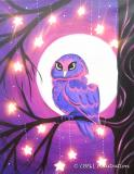 The image for NEW ART : Owl Light - Star Bright (WITH LIGHTS)