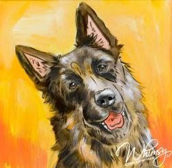 The image for Paint Your Pet : Watercolor (Lightshine Canines Fundraiser)