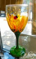 The image for SPECIALTY CLASS : Paint on Wine Glasses or Beer Mugs!
