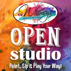 The image for Open Studio 1pm-8pm
